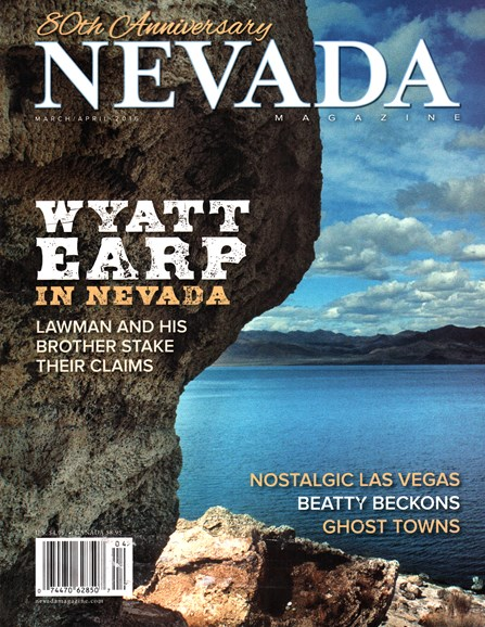 Nevada Magazine Cover - 3/1/2016