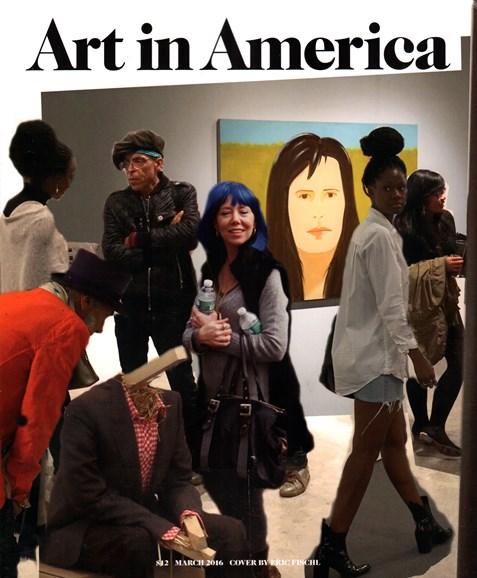 Art In America Cover - 3/1/2016