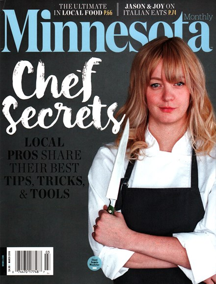 Minnesota Monthly Cover - 3/1/2016