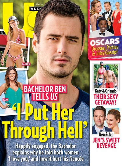 Us Weekly Cover - 3/14/2016