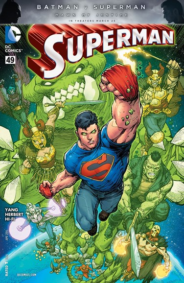 Superman Cover - 4/1/2016