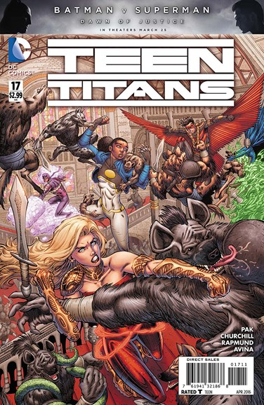 Teen Titans Cover - 4/1/2016