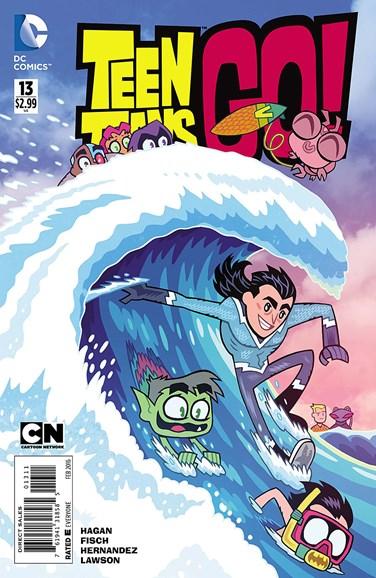 Teen Titans Go! Cover - 2/1/2016