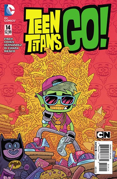 Teen Titans Go! Cover - 3/1/2016