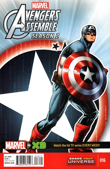 Marvel Universe Avengers Assemble Cover - 4/1/2016
