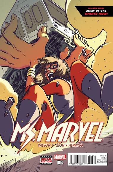 Magnificent Ms. Marvel Cover - 4/1/2016