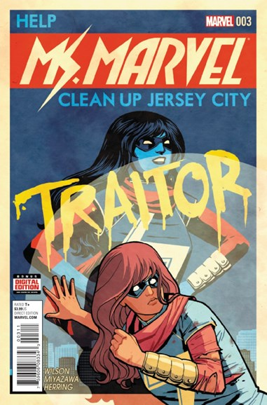Magnificent Ms. Marvel Cover - 3/1/2016