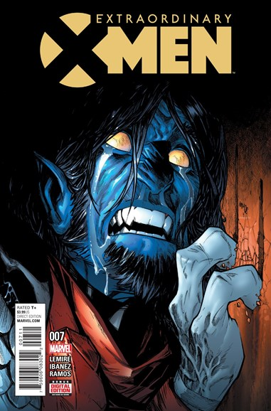 X-Men Gold Cover - 4/11/2016