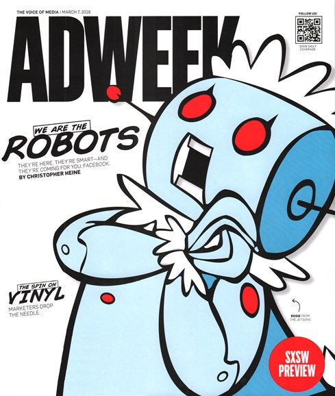 Adweek Cover - 3/7/2016