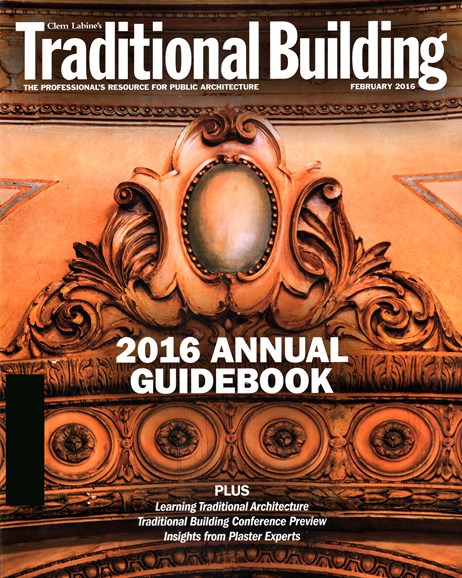 Traditional Building Cover - 2/1/2016