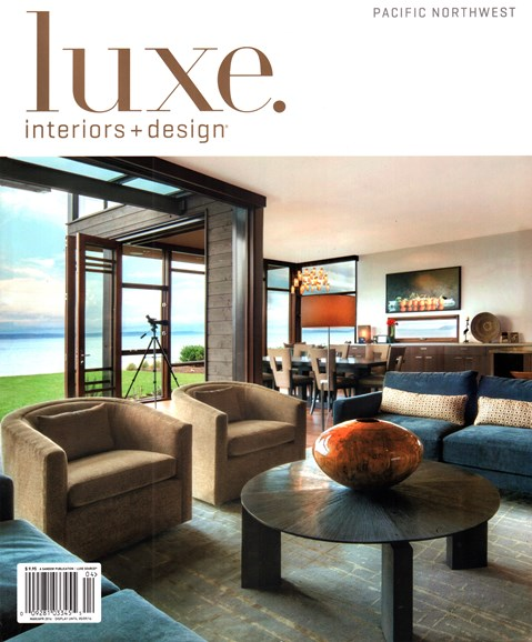 Luxe Interiors & Design Cover - 3/1/2016