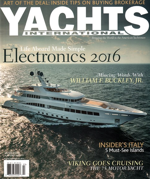 Yachts International Cover - 3/1/2016