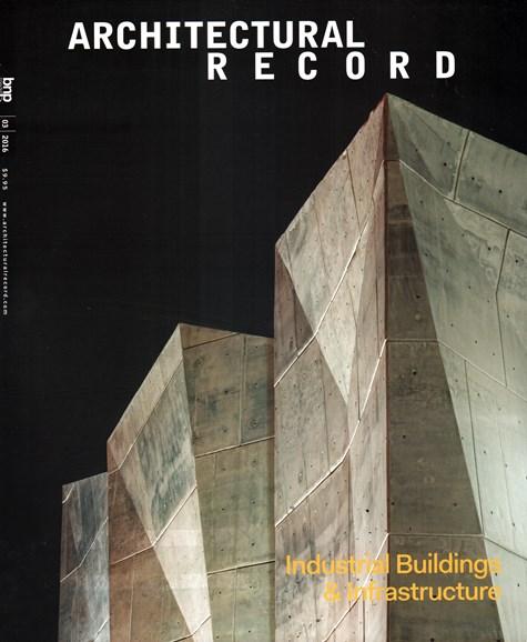 Architectural Record Cover - 3/1/2016