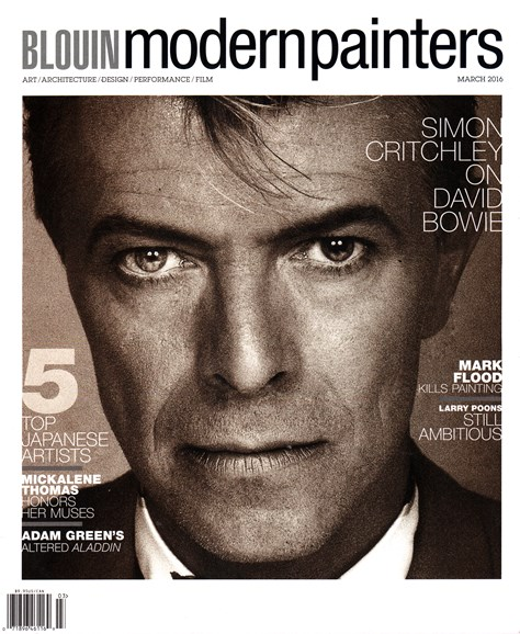 Blouin Modern Painters Cover - 3/1/2016