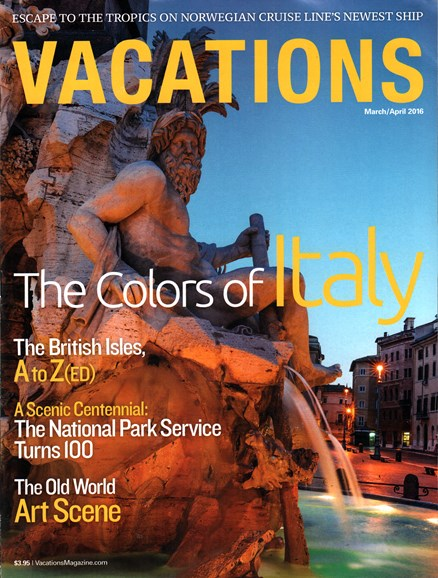 Vacations Cover - 3/1/2016
