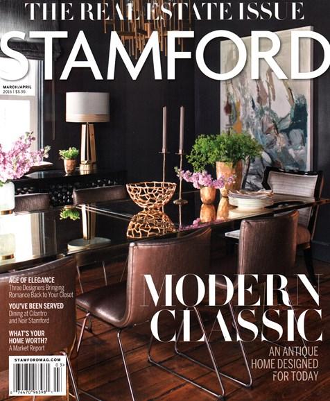 Stamford Magazine Cover - 3/1/2016