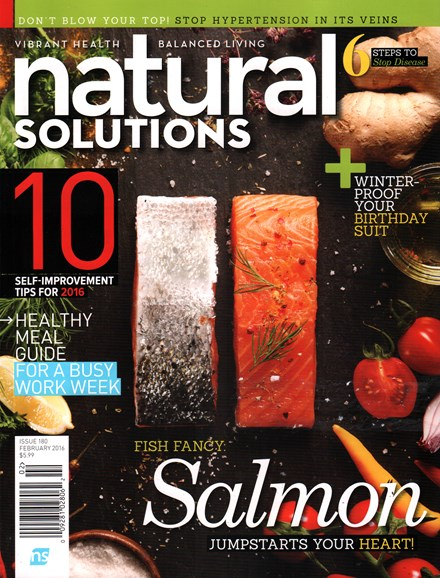 Natural Solutions Cover - 2/1/2016