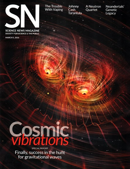 Science News Cover - 3/5/2016