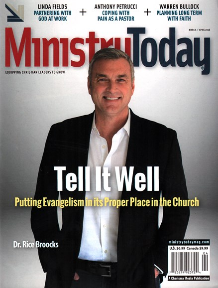 Ministry Today Cover - 3/1/2016