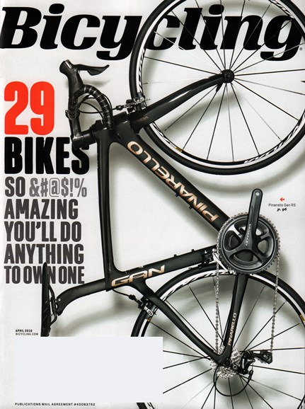 Bicycling Cover - 4/1/2016
