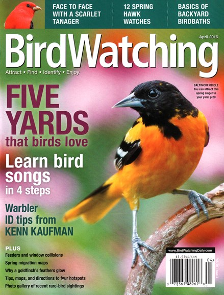 Bird Watching Cover - 4/1/2016