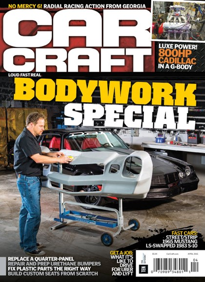 Car Craft Cover - 4/1/2016