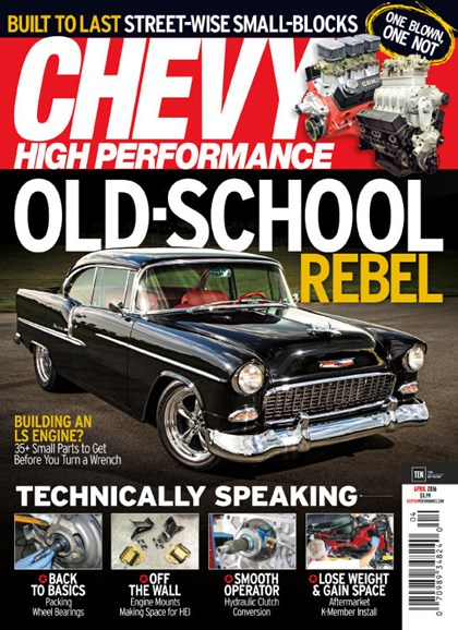 Chevy High Performance Cover - 4/1/2016