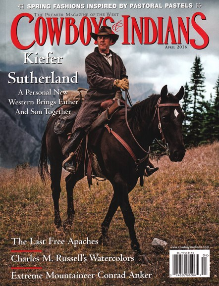 Cowboys & Indians Cover - 4/1/2016