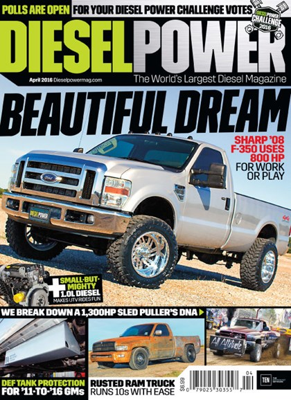 Diesel Power Cover - 4/1/2016
