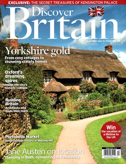 Discover Britain Cover - 4/1/2016