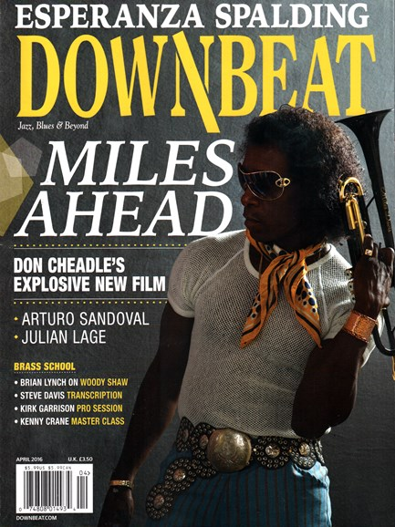 DownBeat Cover - 4/1/2016