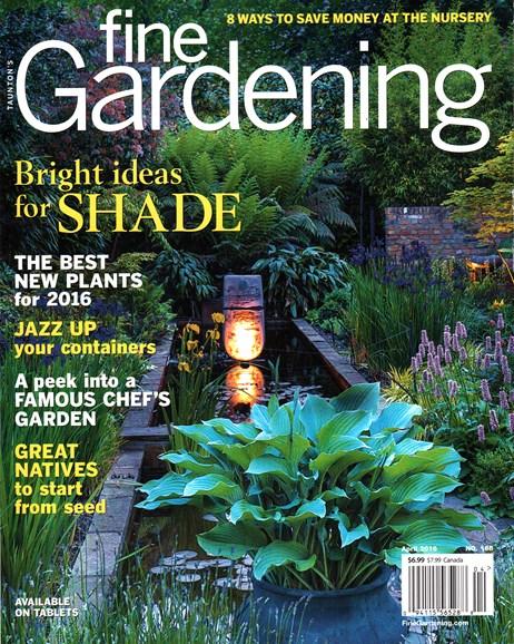 Fine Gardening Cover - 4/1/2016