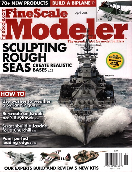 Finescale Modeler Cover - 4/1/2016