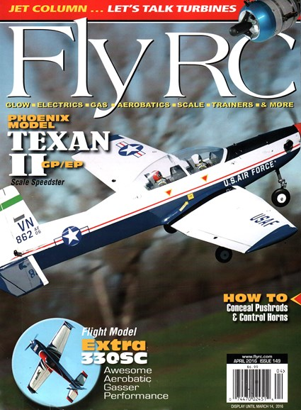 Fly RC Cover - 4/1/2016