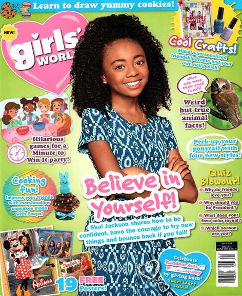 Girls' World Cover - 4/1/2016