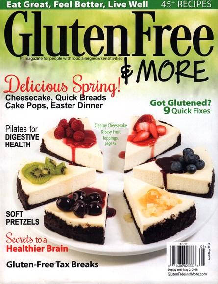 Gluten Free & More Cover - 4/1/2016