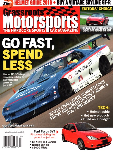 Grassroots Motorsports Cover - 4/1/2016