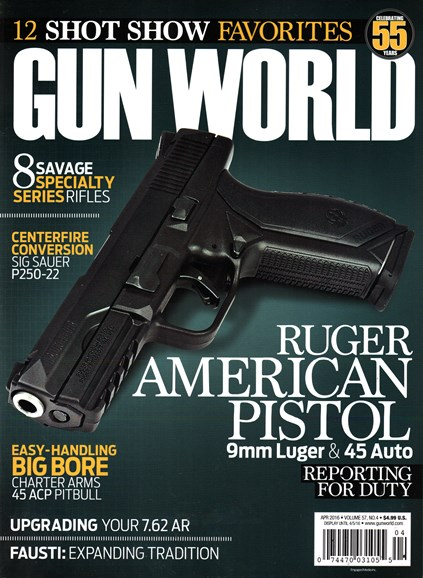 Gun World Cover - 4/1/2016