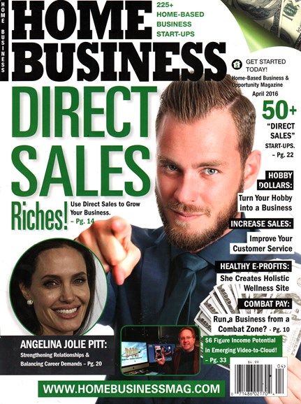 Home Business Magazine Cover - 4/1/2016