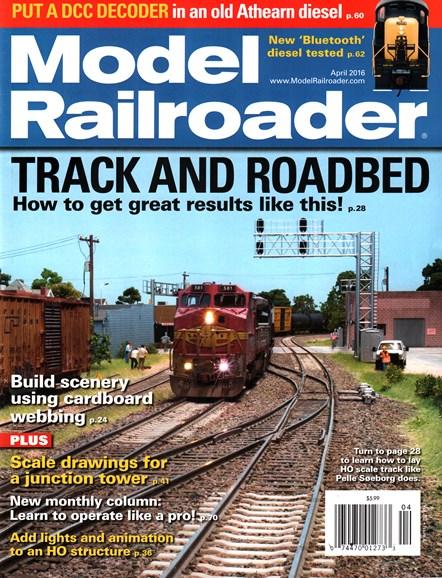 Model Railroader Cover - 4/1/2016