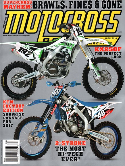 Motocross Action Cover - 4/1/2016