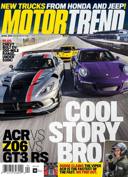 Motor Trend Cover - 4/1/2016