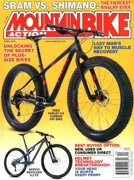 Mountain Bike Action Cover - 4/1/2016
