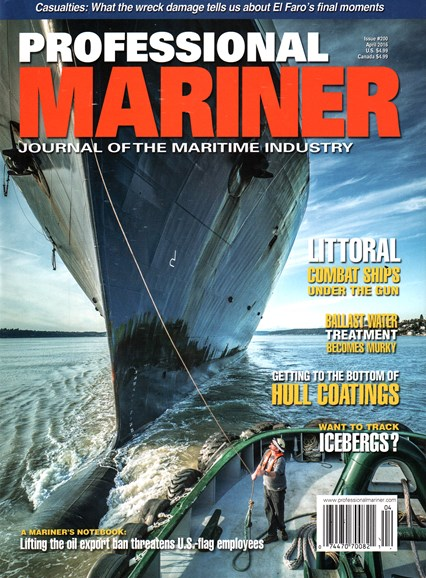 Professional Mariner Cover - 4/1/2016