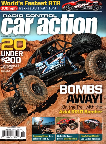 Radio Control Car Action Cover - 4/1/2016
