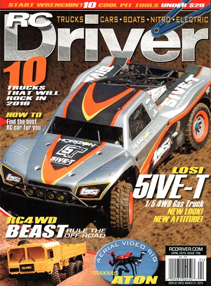 RC Driver Cover - 4/1/2016