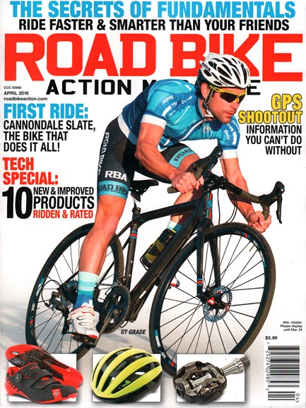 Road Bike Action Cover - 4/1/2016