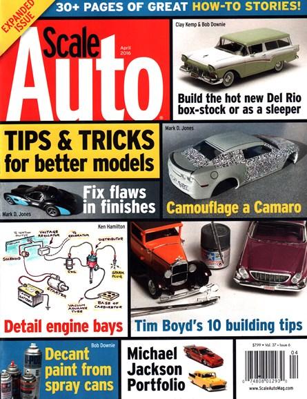Scale Auto Magazine Cover - 4/1/2016