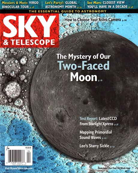 Sky & Telescope Cover - 4/1/2016