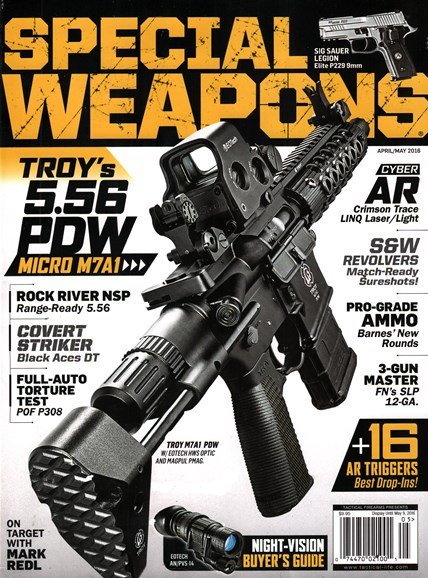 Special Weapons for Military & Police Cover - 4/1/2016